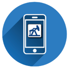 Mobile app Zedi Go screen