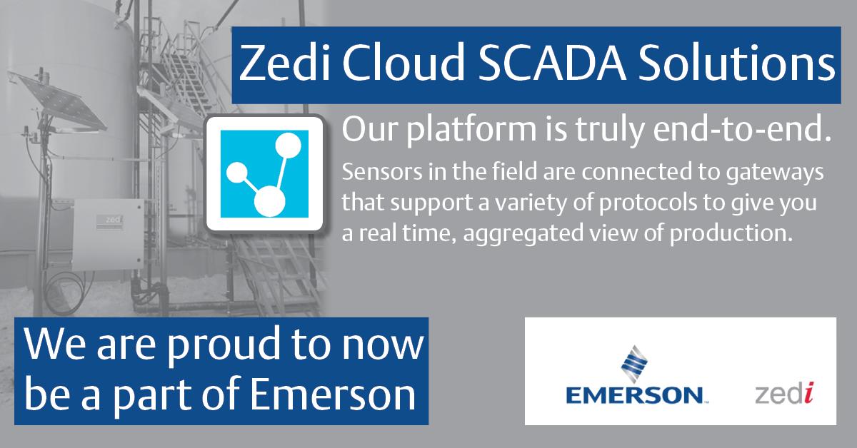 Emerson's Zedi Cloud SCADA Solutions