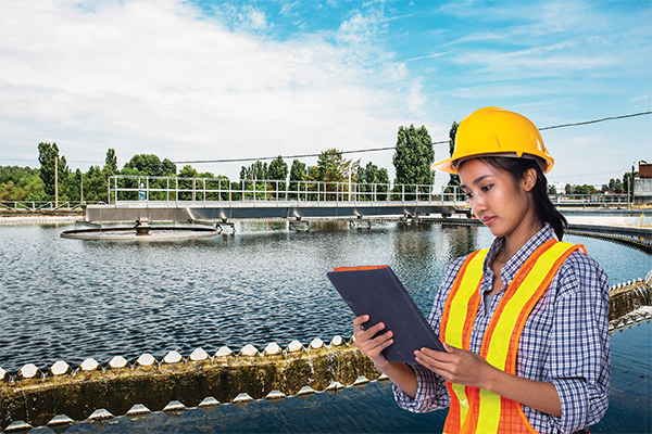 Water operations software as a service platform
