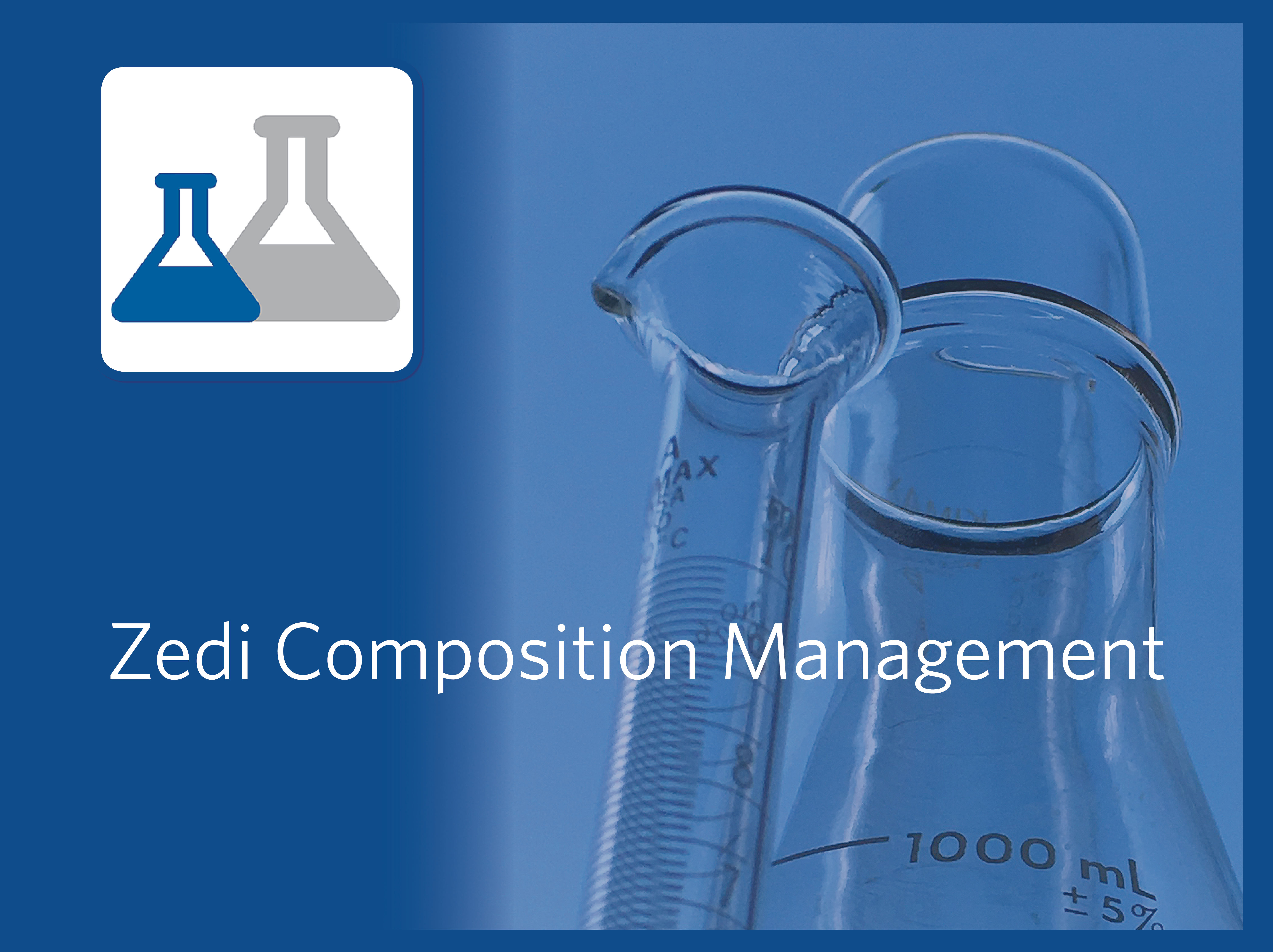 Zedi Composition Management to easily manage oil and gas  analysis