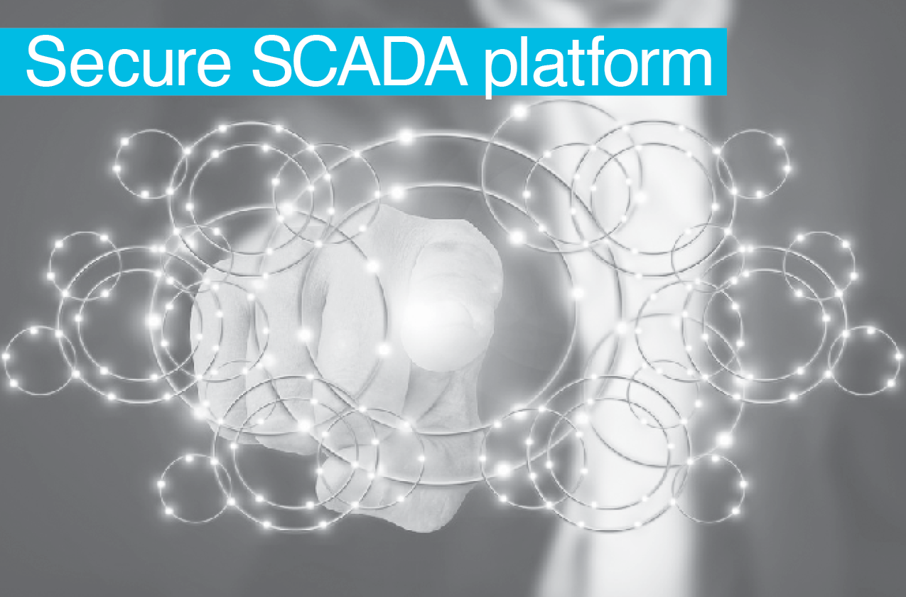 Secure oil and gas SCADA platform