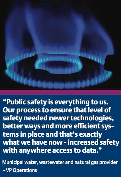Gas Utility Increases Public Safety